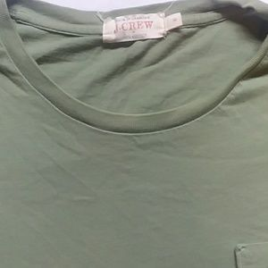 J. Crew Shirts - J. CREW men's green tee